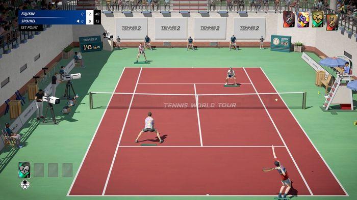 tennis world tour 2 gameplay