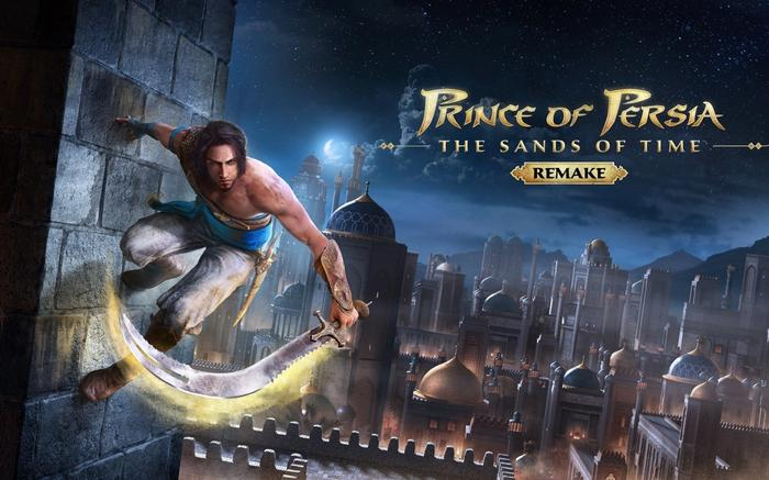 Prince of Persia Sands of Time Remake Key Promo Art