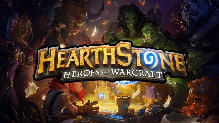 Hearthstone Update 20.0 title screen