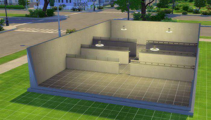 Sims 4 Half Walls 1