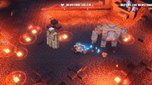 Minecraft dungeons beat 1 1