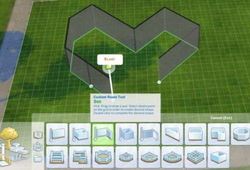 Sims 4 room building