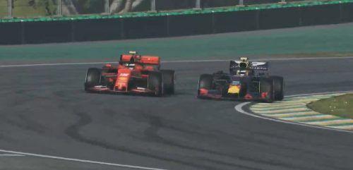 Albon Leclerc Interlagos Dutch Virtual GP