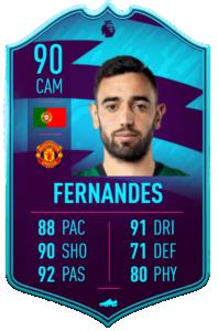 Fernandes potm february premier league