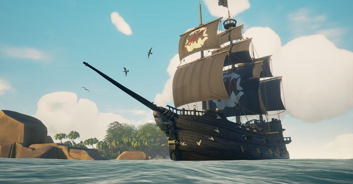 Sea of Thieves Hungering Deep Sails