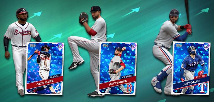 MLB The Show 21 July 9 Roster Update new diamonds ozzie albies matt barnes joey gallo