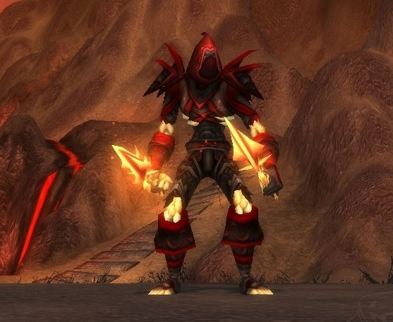 WoW Classic Undead Rogue Bloodfang Tier
