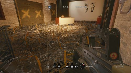 rainbow 6 barbed wire