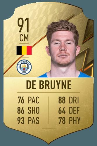 FIFA 22 Kevin de Bruyne