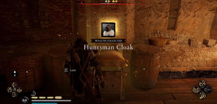 Assassins Creed Valhalla Huntsman Cloak Collected