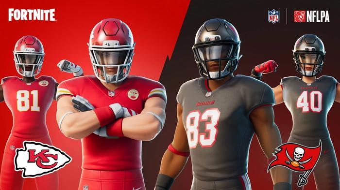 Fortnite Gridiron Gang Skins NFL Rumble LTM Twitch Rivals Streamer Bowl 2