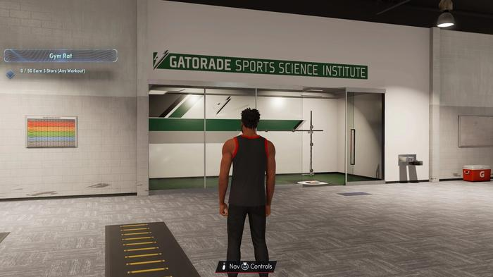 Inside the Gatorade Facility in NBA 2K22
