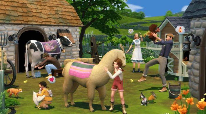 dress animals, cottage living