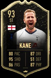 Kane fut player days fifa 20