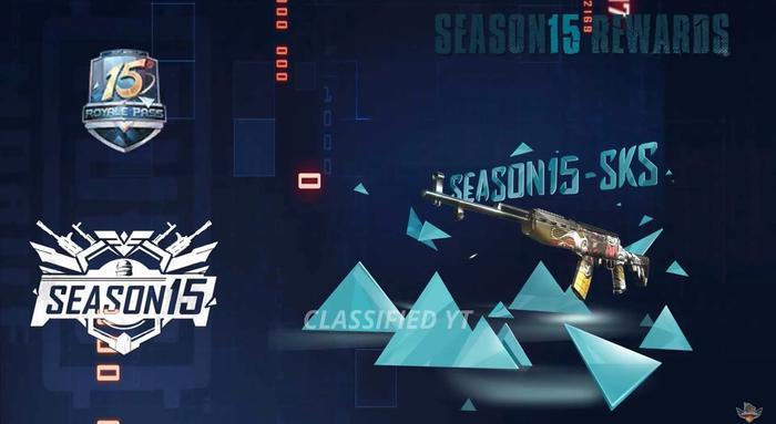 pubg mobile season 15 gun 1
