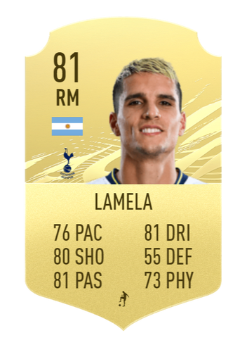 FIFA 22 Erik Lamela