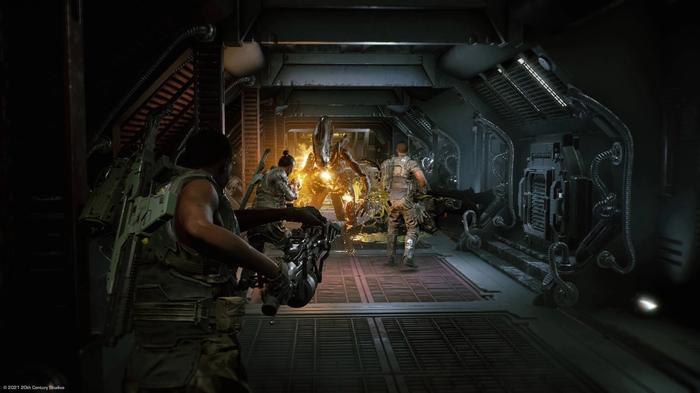 New Aliens Game fireteam co-op firefight