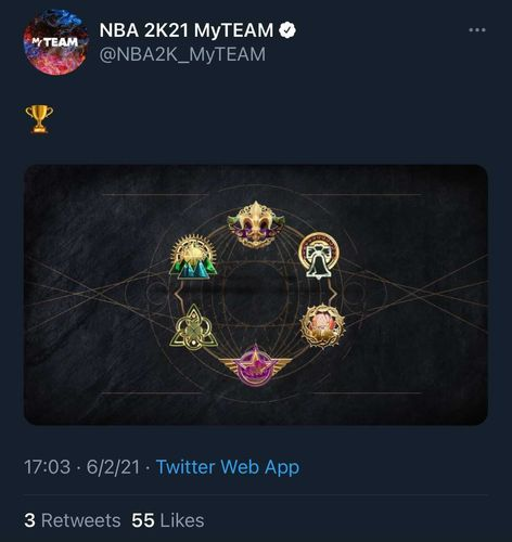 NBA 2K21 apology apologizes tweet offensive imagery myteam Season 8 Trial of Champions