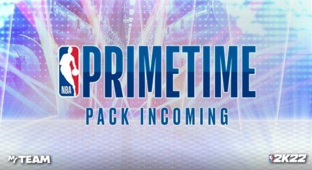 Primetime Pack screen in NBA 2K22