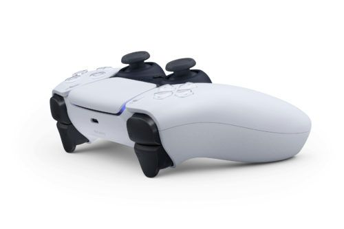 Sony ps5 controller dualsense wireless side view
