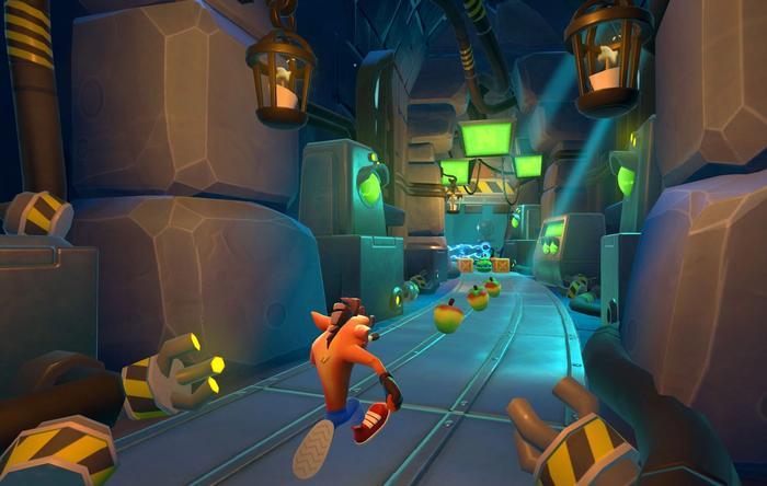 Crash Bandicoot On The Run Lab Level