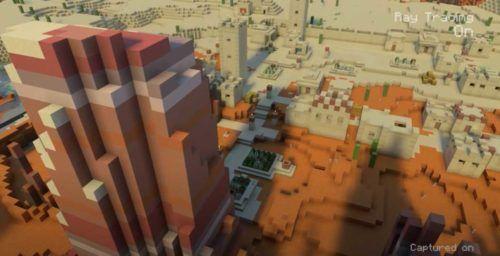 Minecraft Xbox Series X Ray Tracing 2