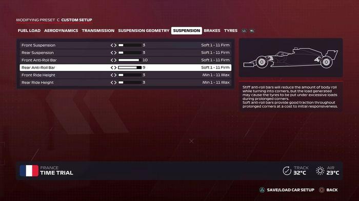 F1 2020 French GP Suspension
