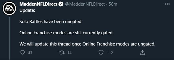 Madden 21 January Title Update Franchise Mode Down Changes