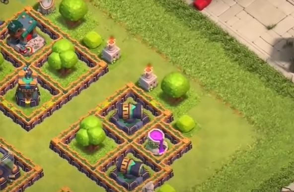 Clash of Clans COC Epic Jungle Challenge Step Two