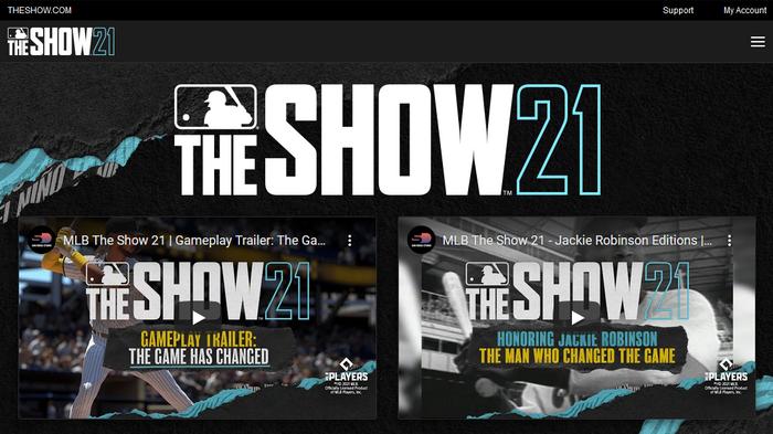 MLB The Show 21 Cross Platform Saves Progression Account TheShow.com