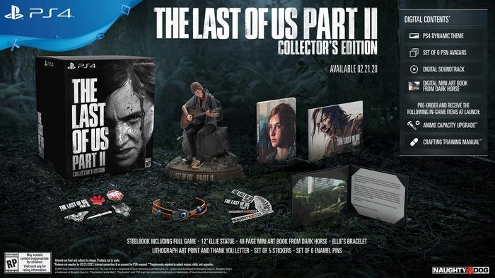 A fully loaded collectors edition for The Last of Us Part II