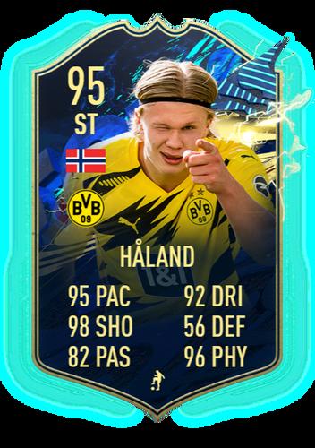 FIFA 21 TOTS Erling Haaland