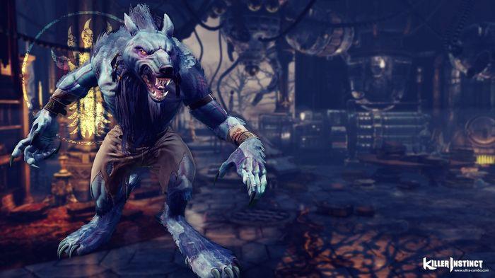 New Killer Instinct Sabrewulf
