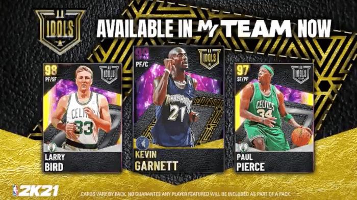 NBA 2K21 MyTEAM IDOLS Series II Packs Image