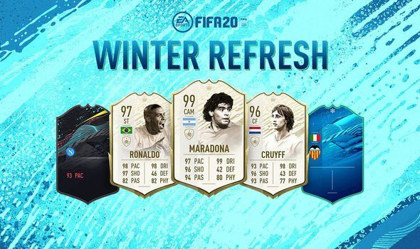 FIFA 20 Winter Refresh ultimate team