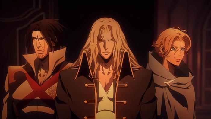 Castlevania Season 2 Netflix Anime Alucard