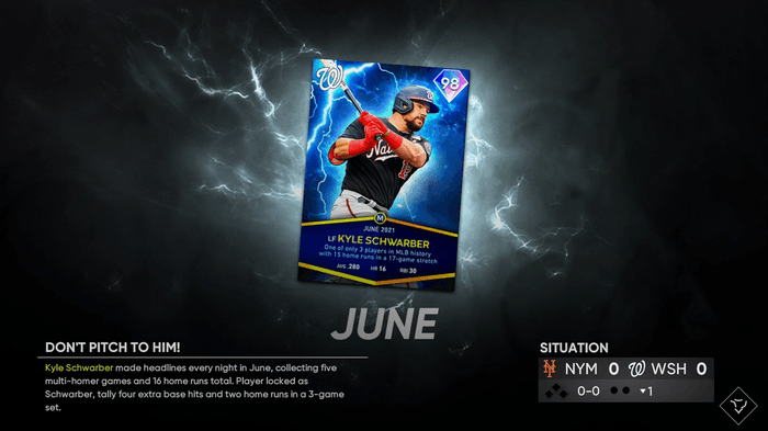MLB The Show 21 June Monthly Awards Program winners how to complete unlock