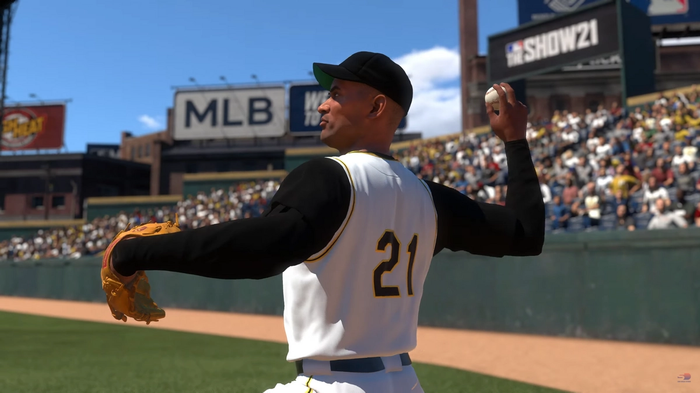 MLB The Show 21 Legends Roster Roberto Clemente