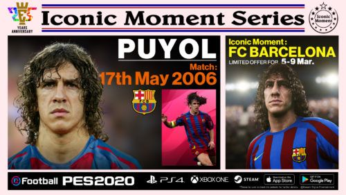 PES 2020 IconicMoment BAR PUYOL