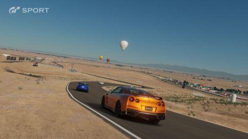 Desert racing in Gran Turismo Sport