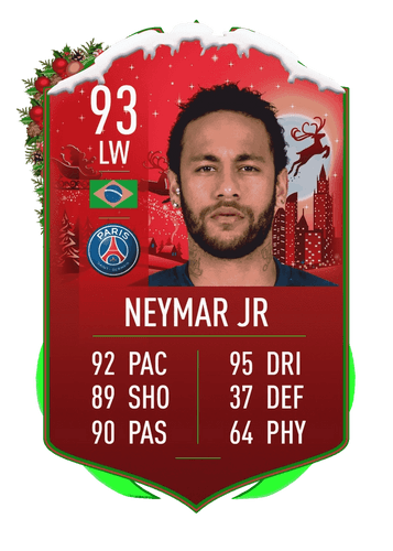 TRICKSTER! Neymar would be a popular addition to this week's promo