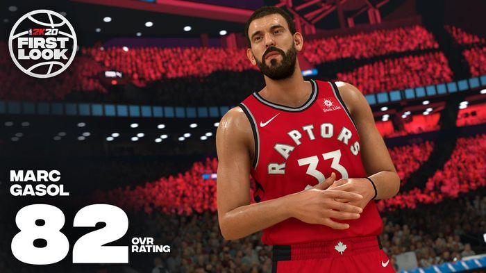 Marc Gasol NBA 2K20