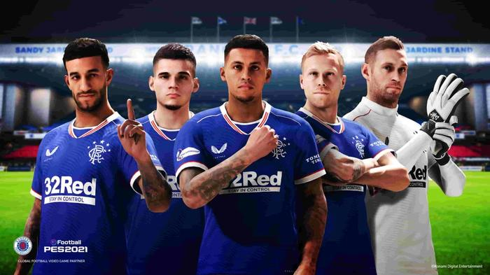 Rangers pes 2021 squad 1