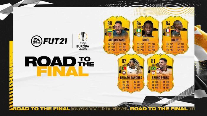 fifa 21 uel rttf players