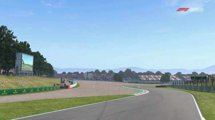 F1 2020 Spain turn 7 8 Y