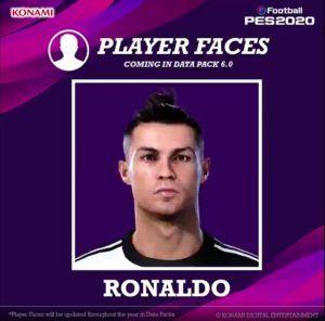 Ronaldo pes 2020 data pack 6