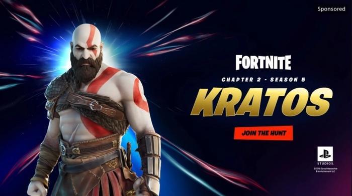 Fortnite Season 5 Skins battle pass kratos