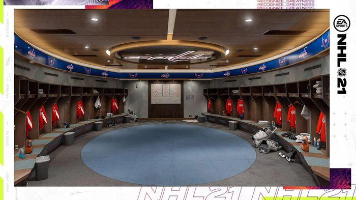 NHL 21 Locker Rooms 1