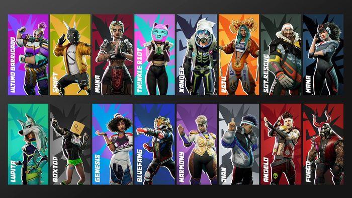 Destruction AllStars Season 1 Characters