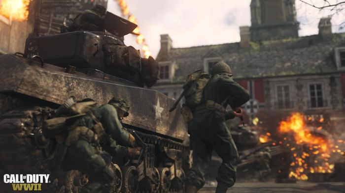 New Warzone WW2 Map Call of Duty Tank